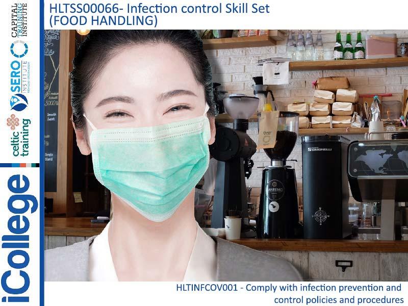 Course Image HLTSS00066 - Blended - Infection control Skill Set (Food Handling)