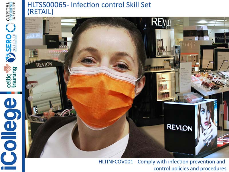 Course Image HLTSS00065 - Infection control Skill Set (Retail)