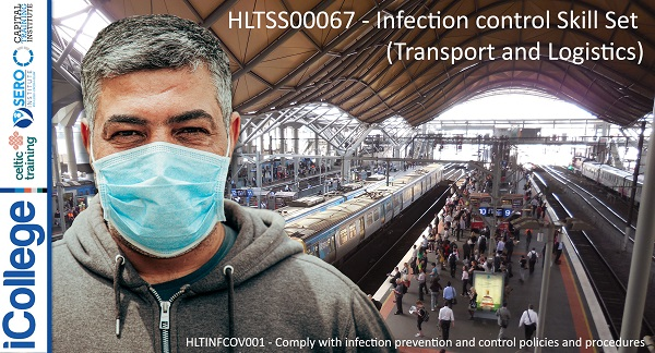 Course Image HLTSS00067 - Infection control Skill Set (Transport and Logistics)