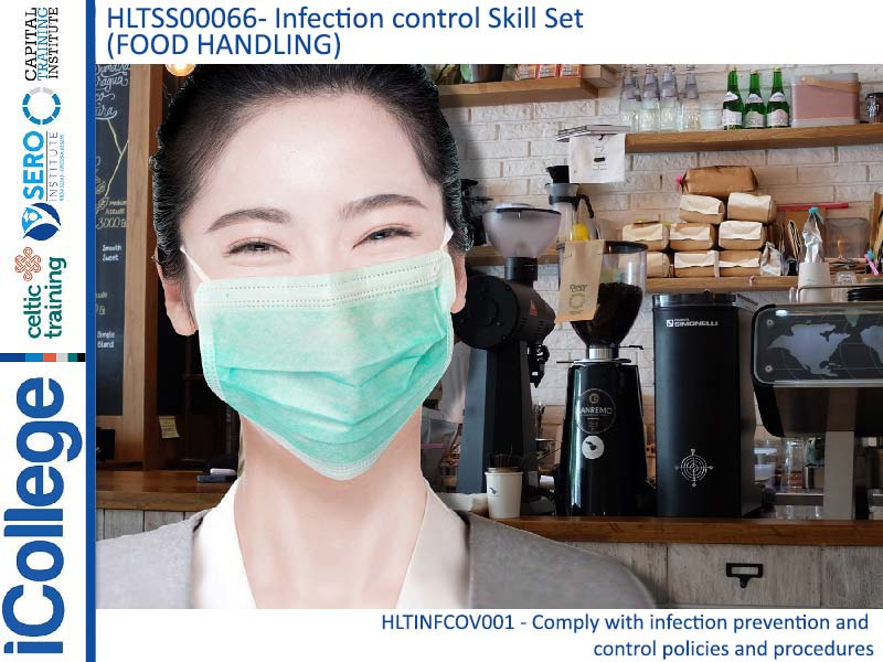 Course Image HLTSS00066 - Infection control Skill Set (Food Handling)