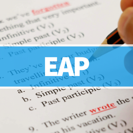 English for Academic Purposes (EAP) – Level 1 & 2