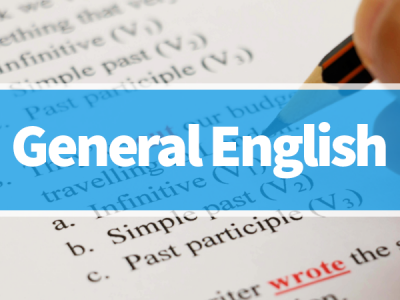 The General English – Elementary to Advanced Level
